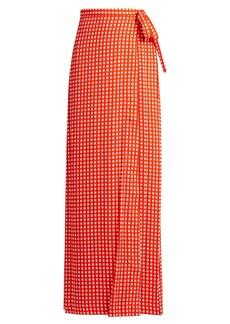 Preen By Thornton Bregazzi Agnel wrap maxi skirt