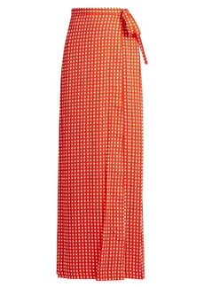 Preen By Thornton Bregazzi Agnel wrap maxi skirt