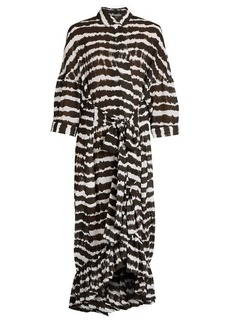 Preen By Thornton Bregazzi Aspen tie-dye print dress
