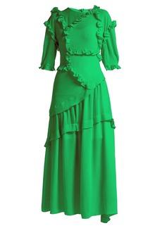 Preen By Thornton Bregazzi Cassidy ruffle-trim dress
