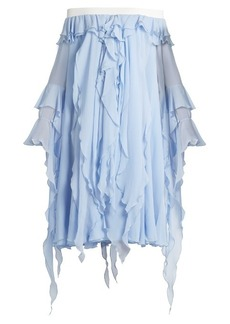 Preen By Thornton Bregazzi Ella off-the-shoulder silk dress