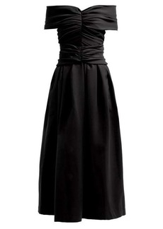 Preen By Thornton Bregazzi Ellie off-the-shoulder dress