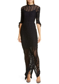 Preen By Thornton Bregazzi Ellison Stretch Lace Gown