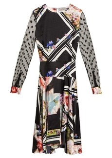 Preen By Thornton Bregazzi Erin floral-print silk dress