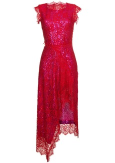 Preen By Thornton Bregazzi Georgie sleeveless sequin layered lace