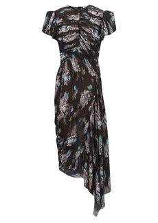 Preen By Thornton Bregazzi Jane floral-print pleated-chiffon dress