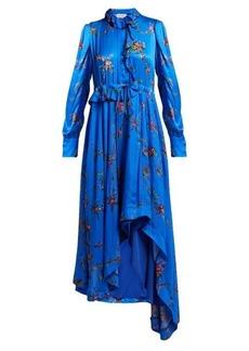 Preen By Thornton Bregazzi Jessie floral-print handkerchief-hem dress