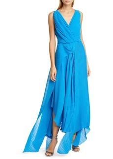 Preen By Thornton Bregazzi Kimber Pleat Georgette Gown