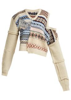 Preen By Thornton Bregazzi Kyra Fair Isle-knit wool sweater
