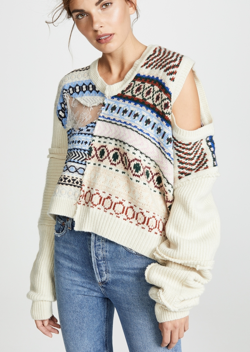 Preen By Thornton Bregazzi Kyra Knit Sweater