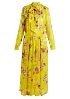 Preen By Thornton Bregazzi Lupin chiffon devoré dress