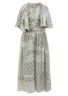 Preen By Thornton Bregazzi Malu ruffled floral-print crepe dress