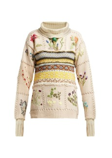 Preen By Thornton Bregazzi Marion Fair Isle-knitted sweater