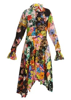 Preen By Thornton Bregazzi Nora floral-print silk dress