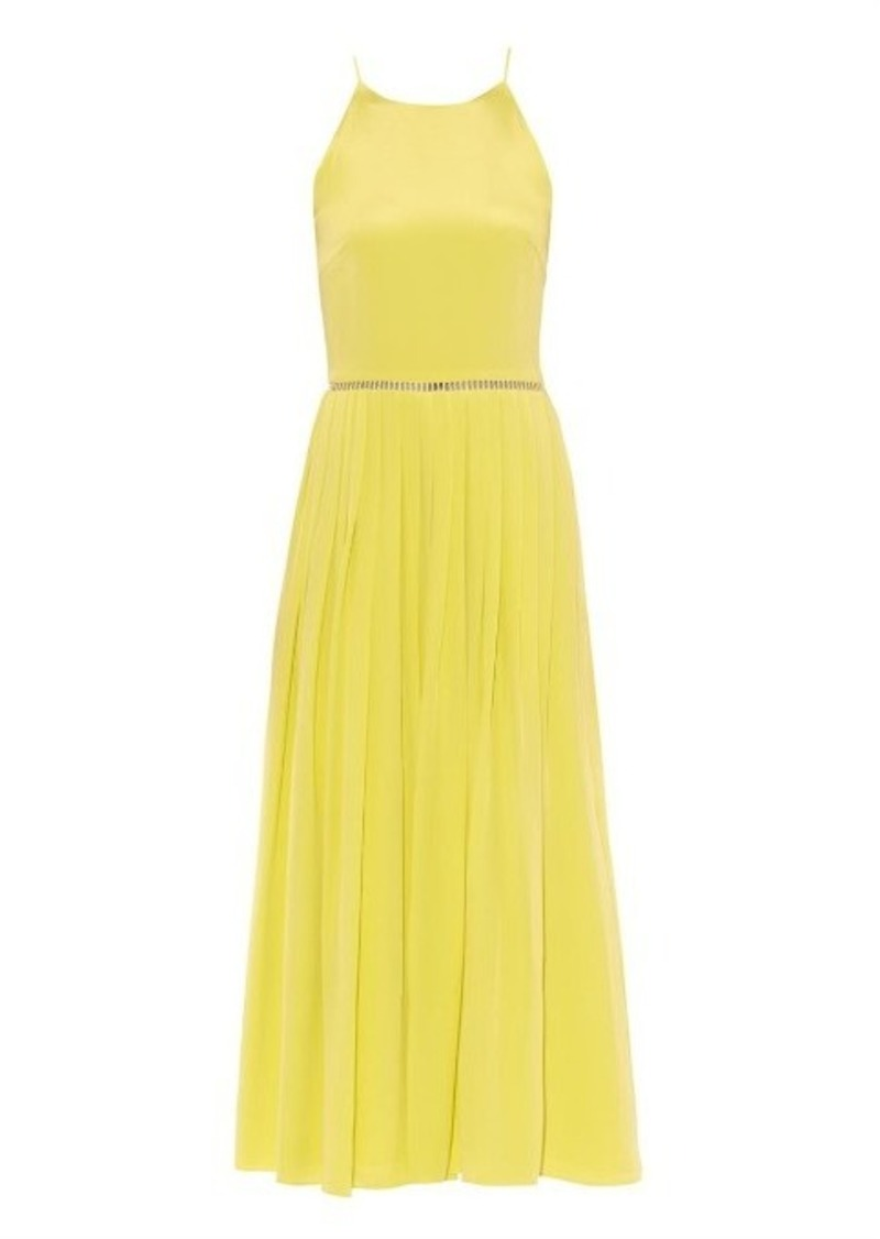 Preen By Thornton Bregazzi Pansy silk dress