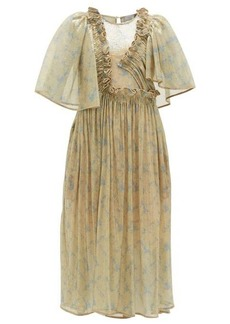 Preen By Thornton Bregazzi Parmena ruffled sequinned-tulle dress