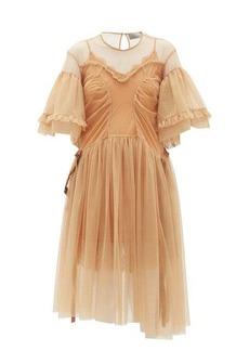Preen By Thornton Bregazzi Petra ruffled tulle dress