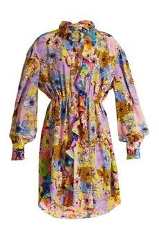 Preen By Thornton Bregazzi Petula floral-print dress