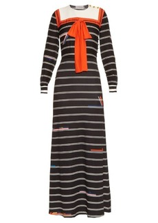 Preen By Thornton Bregazzi Reda long-sleeved dress