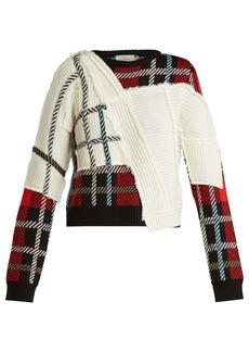 Preen By Thornton Bregazzi Rita tartan knit sweater