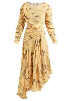 Preen By Thornton Bregazzi Sandra floral-print pleated dress