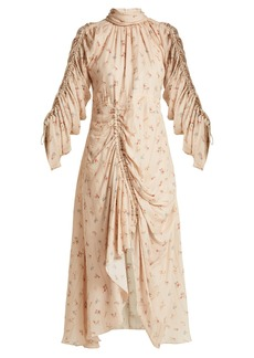 Preen By Thornton Bregazzi Zillie floral-print silk dress