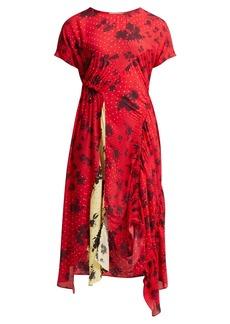 Preen Line Asha floral-print crepe dress