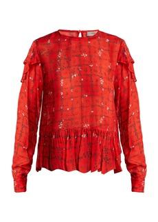Preen Line Bryoni vine-print blouse