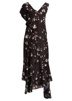 Preen Line Dana floral-print midi dress