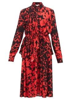 Preen Line Felicity floral-print crepe de Chine dress