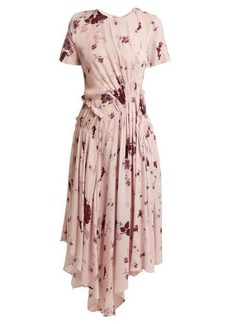 Preen Line Lois wildflower-print ruched dress