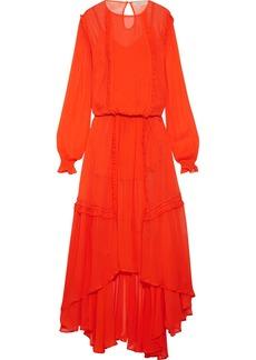 Preen Line Martina ruffled chiffon maxi dress