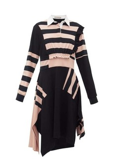 Preen Line Omisha striped cotton rugby dress