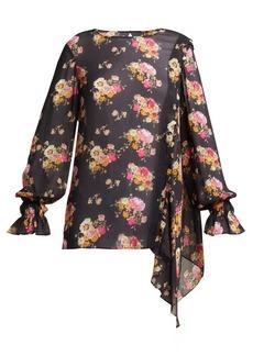 Preen Line Sofia floral-print blouse