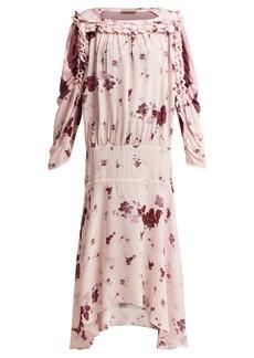 Preen Line Sora floral-print dress