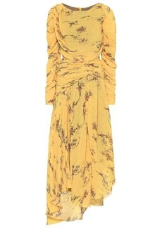 Preen Sandra pleated georgette dress