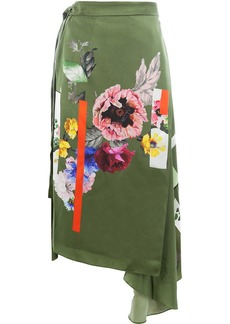 Preen Sketchbook floral print skirt