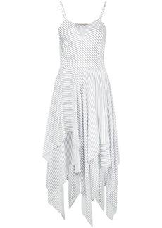 Preen striped handkerchief dress