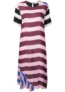 Preen striped oversized T-shirt dress