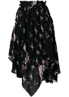 Preen wild flower print skirt