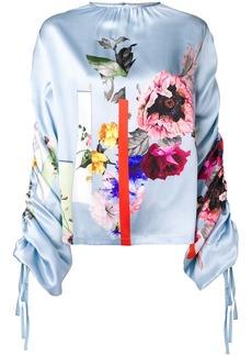 Preen Willis sketchbook floral top