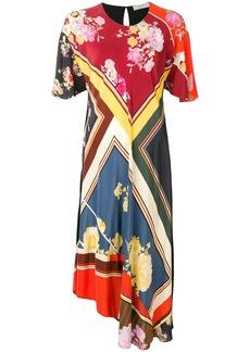 Preen Yesina floral foulard dress