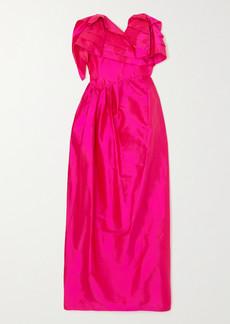 Preen Zita Strapless Ruffled Silk-taffeta Dress