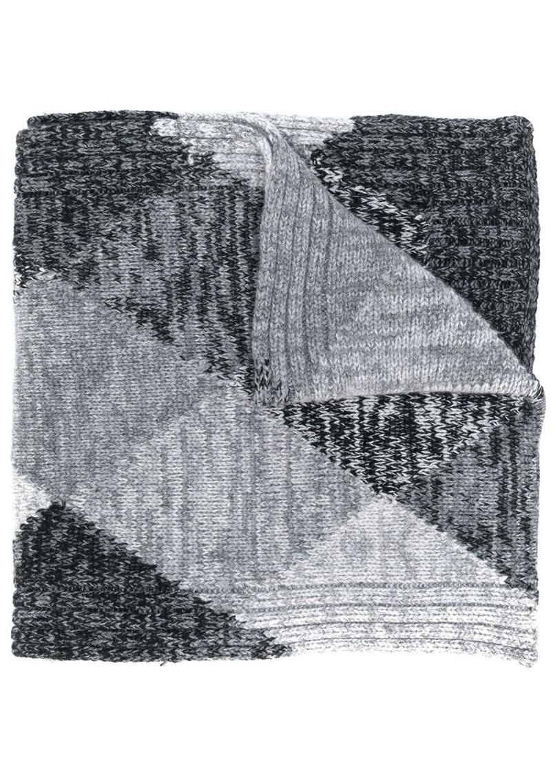 Pringle argyle scarf
