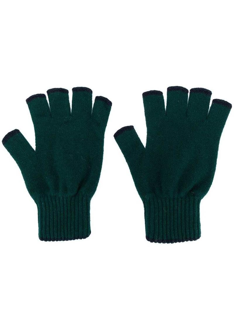 Pringle cashmere fingerless gloves