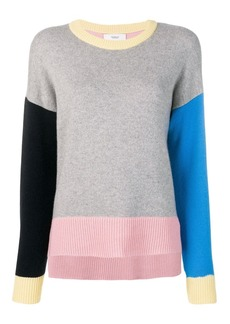 Pringle colour block cashmere jumper