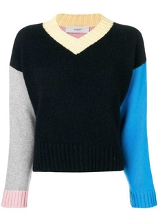 Pringle colour-block cashmere sweater
