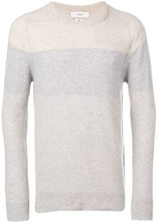 Pringle colour block fine-knit sweater