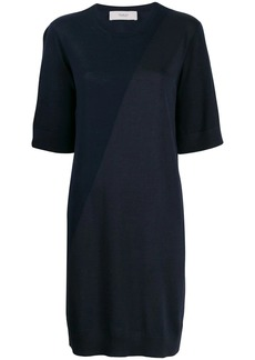 Pringle colour block knitted dress