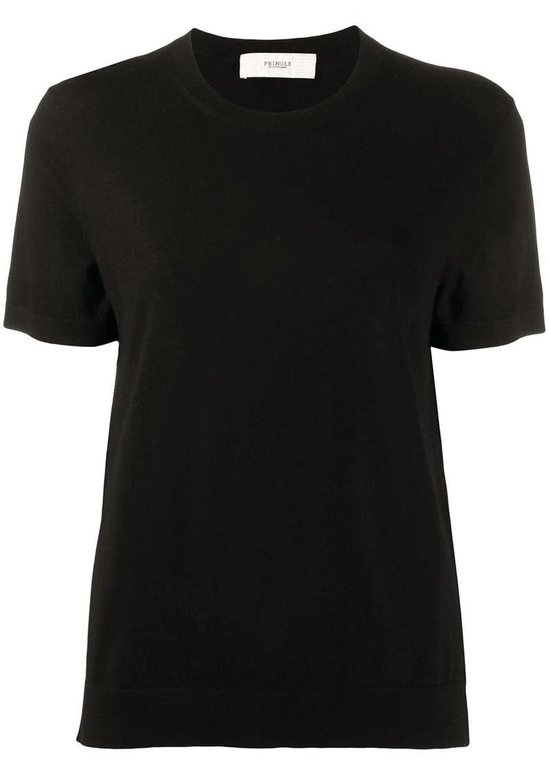 Pringle crew-neck box cut T-shirt